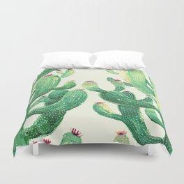 two big cactus Duvet Cover