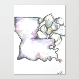 Louisiana Magnolia  Canvas Print