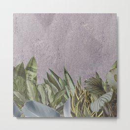 Concrete Jungle Metal Print
