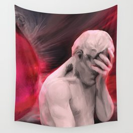 Repentant Man Wall Tapestry