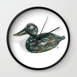 Decoy #3 Wall Clock