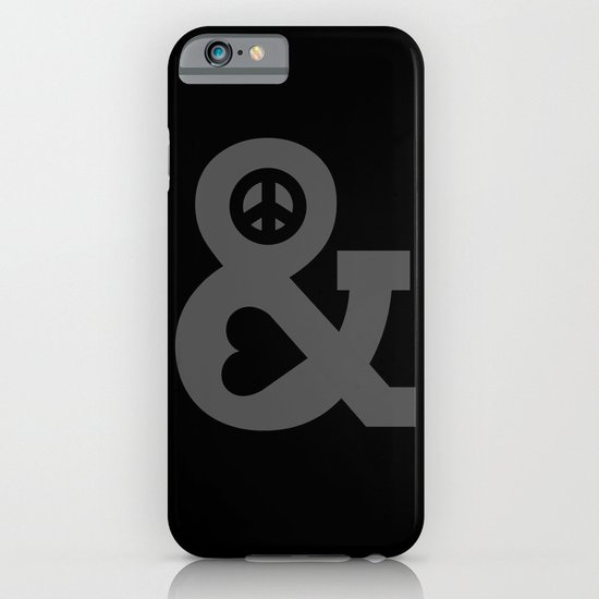 Peace and Love iPhone & iPod Case