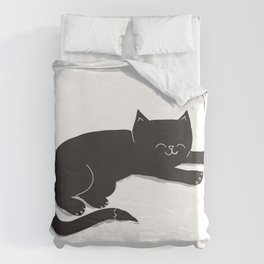 Happy Kitty Duvet Cover