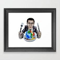 Suit Framed Art Print