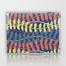 seagrass pattern - blue red yellow Laptop & iPad Skin