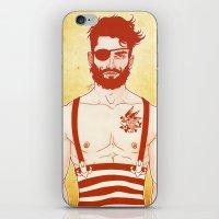 sailor iPhone & iPod Skins featuring Sailor by Ismael Álvarez