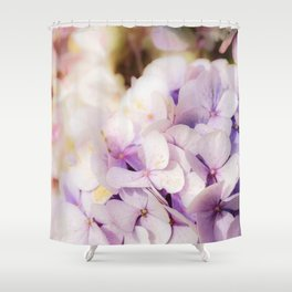 Faded Blue Shower Curtain