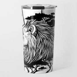 Senegal King Travel Mug