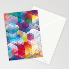 Cuben Curved #4 Stationery Cards