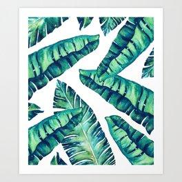 Tropical Glam #society6 #decor #buyart Art Print