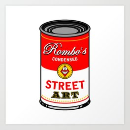 Campbells soup tribute Art Print