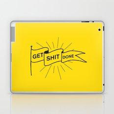 GET SHIT DONE Laptop & iPad Skin