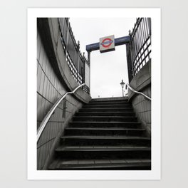 Out of the Underground Art Print