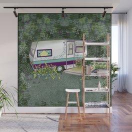 Glamping Hideaway! Wall Mural