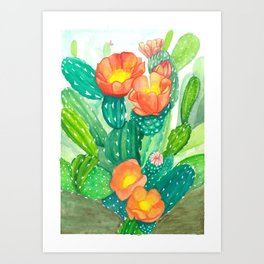 Cacti Beauty Art Print