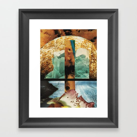 12:37 Framed Art Print