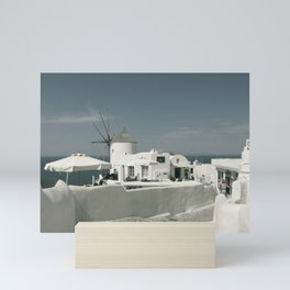 Santorini, Greece 8 Mini Art Print