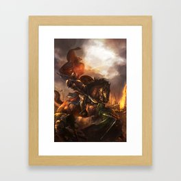 LW 04 Framed Art Print