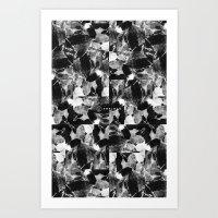 smplmag marble pattern Art Print