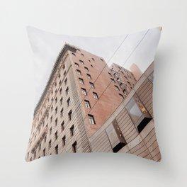 City Slant Throw Pillow