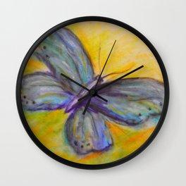 Butterfly Flutters Wall Clock