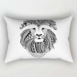 Lion - dark Rectangular Pillow