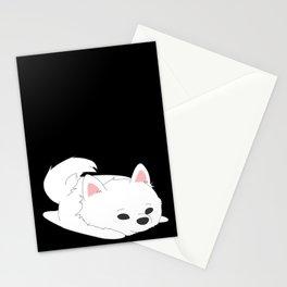 Samoyed Loaf Stationery Cards