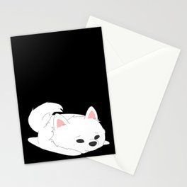 Samoyed Loaf Stationery Cards