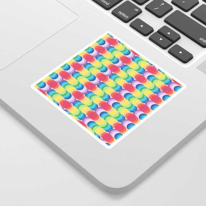 Rainbow Dragon Scales 2 Sticker