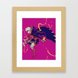 Thoron Framed Art Print