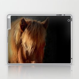 Horse in the dark Laptop & iPad Skin
