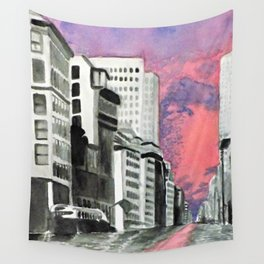 Metropolitan Impressions Wall Tapestry