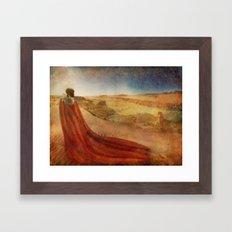 In a Maasai Dream Framed Art Print