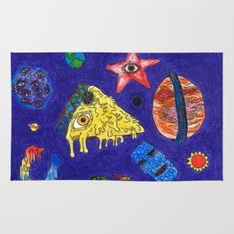 Psychedelic Space Jam Rug