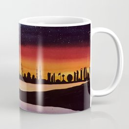 Abu Dhabi, watercolor Coffee Mug