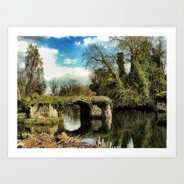 River Also, Warwick, England 2006 Art Print