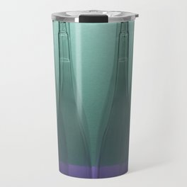 Six conical shapes Travel Mug