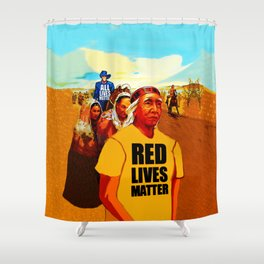 Trail of Tears: 21st Century Edition Shower Curtain