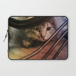 Crouching Kitty  Laptop Sleeve