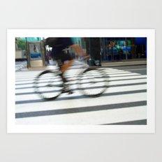 City Traveler Art Print