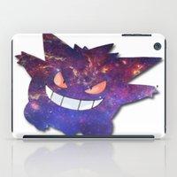 gengar iPad Cases featuring Galaxy Gengar by Visual Declaration