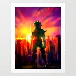 MIDORIYA IZUKU / DEKU - MY HERO ACADEMIA Art Print