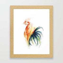 Freak With A Beak Framed Art Print