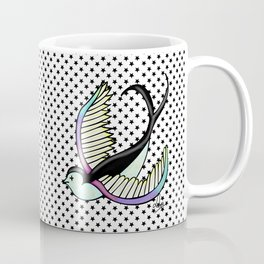 Black swallow odl school Coffee Mug