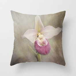 Cinderella's Orchid Throw Pillow