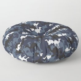 CAMELFLAGE - Special Ops Blue Floor Pillow