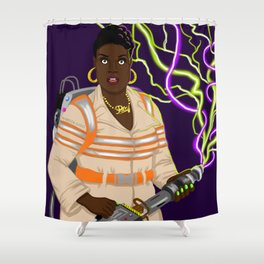 Patty Tolan, Ghostbuster Shower Curtain