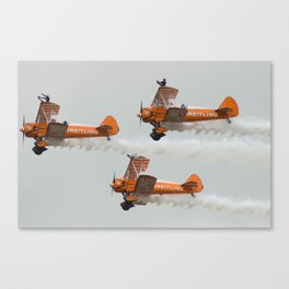 Dancing on Planes Canvas Print