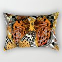 AWESOME  ORANGE-YELLOW BUTTERFLY GRAPHIC MODERN ART by sharlesart