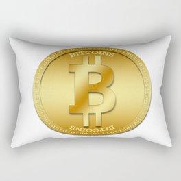 Bitcion Logic Rectangular Pillow